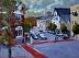 "Hingham Art Walk 2014 by Vcevy Strekalovsky Oil ~ 12"" x 16'"