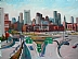 "From Southie by Vcevy Strekalovsky Oil ~ 18"" x 24"""
