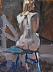 """Melanie 2 by Vcevy Strekalovsky Oil ~ 16"""" x 12"""""""
