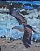 """Surfin' USA by Vcevy Strekalovsky Oil ~ 10"""" x 8"""""""