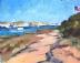 """Nauset Cove by Vcevy Strekalovsky Oil ~ 8"""" x 10"""""""
