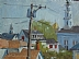 "Rooftops by Vcevy Strekalovsky Oil ~ 6"" x 8"""
