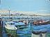 """Town Pier by Vcevy Strekalovsky Oil ~ 12"""" x 16"""""""