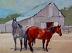 """Starsky and Hutch by Vcevy Strekalovsky Oil ~ 12"""" x 16"""""""