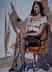 "White Blouse by Vcevy Strekalovsky Oil ~ 16"" x 12"""
