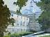 """Gifford Hall by Vcevy Strekalovsky Oil ~ 12"""" x 16"""""""
