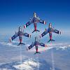 F-86F Skyblazers Diamond