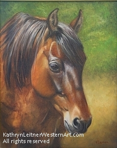 Paco by Kathryn Leitner Oil ~ 24 x 18