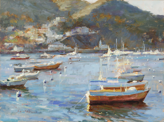 Catalina Glow - Oil