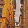 Narrow Street, Lucca