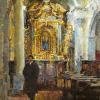 Altar in Barga