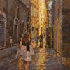 Orange Umbrella, Via Fillungo