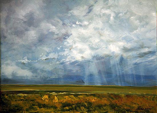 Rain-Storm - Oil