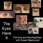 Susan Blackwood - The Eyes Have It! - drawing and painting eyes of all creatures