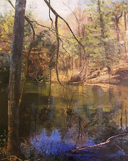 April Reflections - Oil
