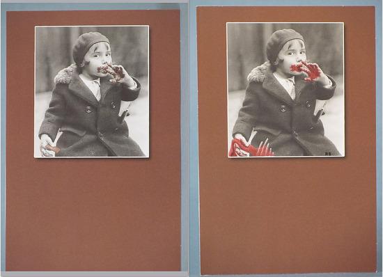 """Hannah Lecter"" by Robert Brandenburg Photograph ~ (image) 3"" x 2.75"""
