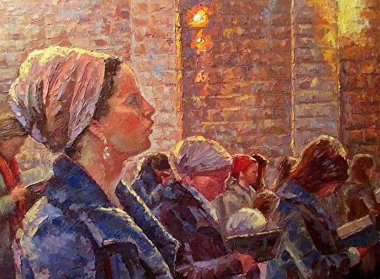 painting-of-women-praying-at-kotel.jpg (550×403)