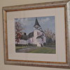 Shannondale Presbyterian Church print framed