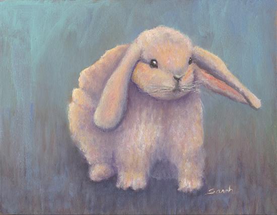 Hip Hop Bunny - Oil