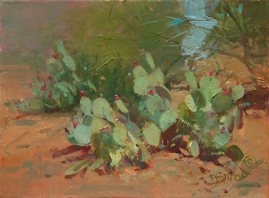 A Prickly Pair - Oil