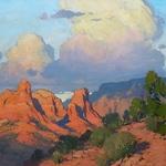 Bill Cramer - Painting Sedona