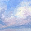 Sky Brushwork 5 by Karen E. Lewis  ~  x
