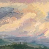 Sky Brushwork 6 by Karen E. Lewis  ~  x
