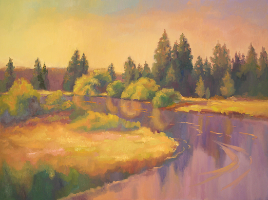 Deschutes Summer Sundance - Oil