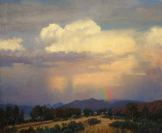 Magic Rains, Taos - Oil