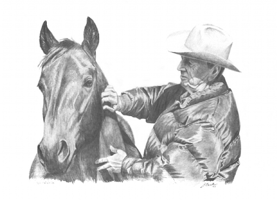 Cowboy sketch drawings - photo#21