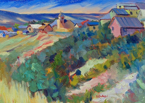 Truchas - Long View - Oil