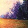 Landscape in Purple and Orange