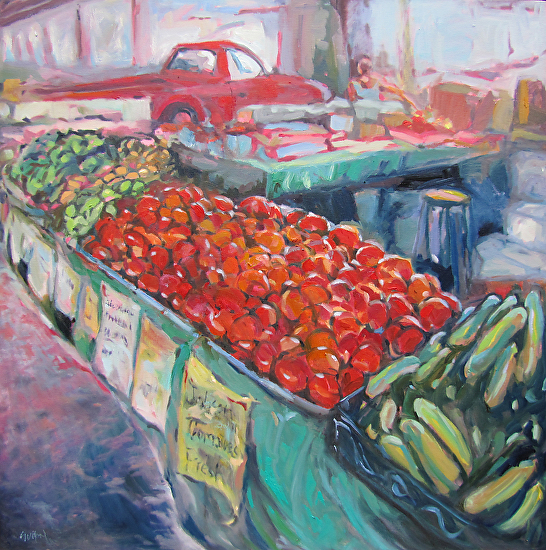 Red Tomatoes - Oil