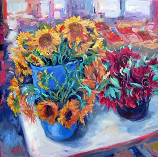 Market Fresh Flowers - Oil