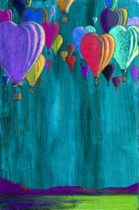 """Love is In The Air"" by JEFF LEEDY Ltd. Edition giclee ~ 36 x 24"