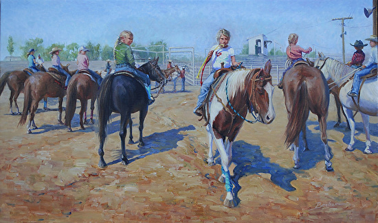 At The Gate - Oil