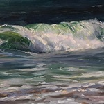 Jacqueline Jones - Wave Painting Workshop in Oil
