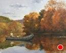 Good Day on the River by Bill Farnsworth Oil ~ 20 x 24