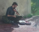 The Soloist by Bill Farnsworth Oil ~ 20 x 24