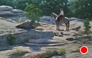 Something Ahead by Bill Farnsworth Oil ~ 22 x 32