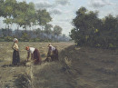 Harvest time by Bill Farnsworth Oil ~ 18 x 24