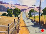 The Way Home by Kim VanDerHoek Oil ~ 6 x 8