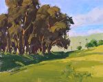 Open Meadow by Kim VanDerHoek Oil ~ 8 x 10
