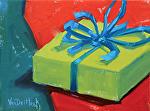 A Gift by Kim VanDerHoek Oil ~ 6 x 8