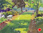 Hope's Garden by Kim VanDerHoek Oil ~ 11 x 14