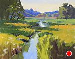 Up The Creek by Kim VanDerHoek Oil ~ 16 x 20