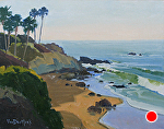 Laguna Morning Light by Kim VanDerHoek Oil ~ 11 x 14