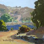Rural Route by Kim VanDerHoek Oil ~ 6 x 6