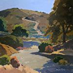 Hillside Passage by Kim VanDerHoek Oil ~ 16 x 16