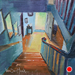 Down and Out by Kim VanDerHoek Oil ~ 6 x 6